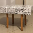 Mesa Mafalda. A Furniture Design, and DIY project by Sofi Ruiz - 09.04.2020