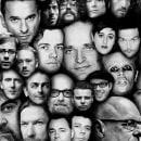 Monstruos de la música electrónica. Um projeto de Design, Direção de arte e Colagem de Ernesto_Kofla - 05.09.2020