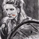 Lagertha. A Realistic drawing project by paolaqsd - 03.14.2018