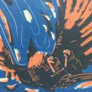 Para el proyecto final de este curso hice un set de prints. El vuelo del cuervo. The crows flight. Um projeto de Ilustração, Ilustração digital, Estampagem e Desenho digital de Annika Sapper - 08.09.2020