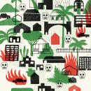 Ilustraciones revista Gato Pardo (La cuna de la narcocultura). A Illustration project by Manuel Vargas - 09.09.2020