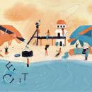 Catalogo de Autores e Ilustradores Colombianos de LIJ. Un proyecto de Ilustración, Diseño Web, Diseño de carteles e Ilustración digital de Juana Puentes - 11.09.2020