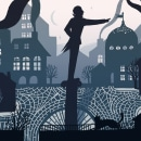 Historias ilustradas con luz y sombra. Un progetto di Illustrazione, Animazione, Illustrazione digitale, Stor, telling , e Narrativa di Ina Hristova - 11.09.2020