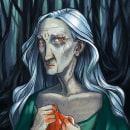 Faerie Playing Cards. Un proyecto de Ilustración, Dibujo, Ilustración digital, Ilustración de retrato y Dibujo de Retrato de Cristina Llera - 16.09.2020