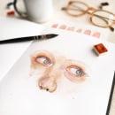 Estudos de manchas (2020). Um projeto de Ilustração, Pintura, Pintura em aquarela e Ilustração com tinta de Franncine de Miranda (Estúdio Luares) - 18.02.2020