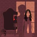 Diseño de portada para el libro 'Una noche con ella' de Samuel Benchetrit. Editado por Larrad Ediciones. . Um projeto de Ilustração de Laura Montes - 16.09.2020