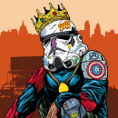 Stormtrooper Hypebeast. Un proyecto de Ilustración de Marcos Cabrera - 15.09.2020