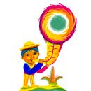 Google Doodle México. Un progetto di Illustrazione, Illustrazione digitale , e Disegno digitale di Ina Hristova - 16.09.2020