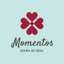 Projeto Momentos Roupa de Mesa. A Design, Br, ing, Identit, and Logo Design project by Paulla Monson Benke Comerlato - 09.18.2020