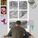 Workspace de un diseñador en cuarentena. Un proyecto de Collage de Esteban González Rey - 19.09.2020