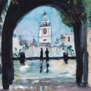 Mi Proyecto del curso: Paisajes urbanos en acuarela. Un proyecto de Bellas Artes, Arte urbano, Bocetado, Dibujo artístico y Brush painting de Laura Stileto - 19.09.2020
