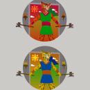 Mi proyecto: Tigrillo guerrero In. Um projeto de Ilustração, Design gráfico, Ilustração vetorial, Ilustração digital e Ilustração infantil de Nicolás Chamorro - 21.09.2020