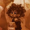 Short Story BLM. Um projeto de Ilustração, Design de personagens, Pintura, Comic, Animação 2D, Desenho, Ilustração digital, Videogames, Concept Art, Design digital, Design de videogames, Desenho digital e Pintura digital de Laura Sánchez Quesada - 22.09.2020