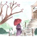Mi Proyecto del curso: Ilustración en acuarela con influencia japonesa. Um projeto de Desenho e Pintura em aquarela de Gimena Peral - 24.09.2020