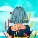 Proyecto Personal.. Um projeto de Ilustração, Design editorial, Desenho, Concept Art e Ilustração editorial de Rosemarie - 25.09.2020