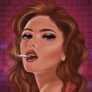 B R O K E N. Un proyecto de Ilustración de Yeimy Valencia - 25.09.2020