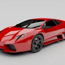 3D/ Modelado Digital - Lamborghini Reventón . A 3D project by Pablo Arenzana - 09.26.2020