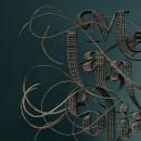 Melancolía. Um projeto de 3D, Design gráfico, Caligrafia, Criatividade, Concept Art, 3D Design e Lettering digital de Jose Padrino Gomez - 26.09.2020