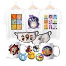 Tienda online - Productos personalizados. Um projeto de Ilustração, Design de produtos, Design de moda, Ilustração digital e Ilustração têxtil de Noelia Pedraza Cordones - 28.09.2020