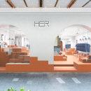 HER proyecto final: Introducción al retail design. A Interior Architecture, Interior Design, Interior Decoration, and Commercial Interior Design project by Clap Studio - 09.29.2020
