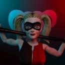 Harley Quinn . Um projeto de 3D, Escultura e Modelagem 3D de Luis Girón Miranda - 30.09.2020