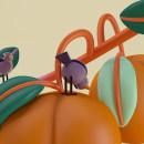 birds and fruits. Un progetto di 3D di Tati Astua - 02.10.2020
