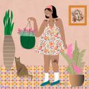 sweet plants. A Illustration, and Digital illustration project by Manuela Chersicla - 10.05.2020