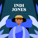 Animación cuadro a cuadro: Indi Jones. Un proyecto de Ilustración, Diseño de personajes, Animación de personajes y Animación 2D de David Pou Fernández - 05.10.2020