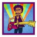 Santana en Woodstock. Um projeto de Design, Ilustração digital e Ilustração infantil de Nicolás Chamorro - 06.10.2020