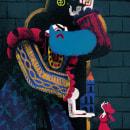 Mi Proyecto del curso: Ilustración creativa: Barba Azul. Un proyecto de Diseño de personajes e Ilustración de Rut Pedreño Criado - 07.10.2020