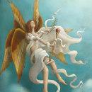 El libro de los ángeles. A Illustration, Digital illustration, and Editorial Illustration project by Rafael Yockteng - 10.07.2020