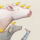 El pollo Chiras. A Illustration, Children's Illustration, and Editorial Illustration project by Rafael Yockteng - 10.07.2020
