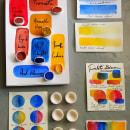 Mi Proyecto del curso: Elaboración de acuarelas artesanales. Um projeto de Artesanato, Artes plásticas, Pintura, Criatividade e Pintura em aquarela de Úrsula Ochoa Gallo - 07.10.2020