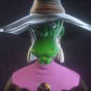 Witch. Un proyecto de 3D y Diseño de personajes 3D de Cuauhtémoc García Robles - 07.10.2020