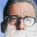 Steve Carell. Um projeto de Ilustração, Artes plásticas, Desenho a lápis, Desenho, Ilustração de retrato, Desenho de Retrato, Desenho realista e Desenho artístico de Néstor Canavarro - 09.10.2020