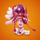 Angewomon. Un progetto di Modellazione 3D di Gabriel Jiménez Soto - 10.10.2020