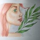 Mi Proyecto del curso: Retrato ilustrado en acuarela. Um projeto de Pintura em aquarela de Vanessa Alvarez Vaello - 13.10.2020