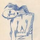 Io te voy a achurar o café para dos. Obra contracturada en 25 actos hacia la liberación. A Illustration, Pencil drawing, Drawing, and Artistic drawing project by Lucas Pisano - 10.13.2020