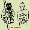QUEDATE EN CASA. A Drawing & Illustration project by Lucas Pisano - 10.13.2020
