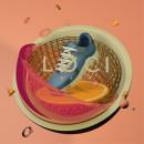 LOCI - SNEAKERS. Un proyecto de Publicidad, Dirección de arte, Diseño gráfico, Diseño de calzado, Modelado 3D, Instagram, Diseño 3D y Diseño para Redes Sociales de Angus Oddi - 09.10.2020