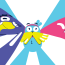 Cartoon Network ID - Story Studio. A Design, Illustration, Motion Graphics, Kino, Video und TV, Animation, Design von Figuren, Animation von Figuren und 2-D-Animation project by Facundo López - 18.10.2020