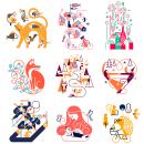 Haguruma - Impresión letterpress desde Japón.. Un proyecto de Diseño, Ilustración, Ilustración vectorial, Dibujo a lápiz, Dibujo e Ilustración digital de Carlos Arrojo - 19.10.2020