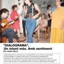 'Dialograma'. Una vez más. Con sentimiento.. Um projeto de Design, Artes plásticas, Design gráfico e Infografia de Jaime Serra Palou - 20.10.2020