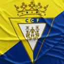 Propuesta nuevo escudo del Cádiz CF. Un proyecto de Br e ing e Identidad de Jose M Quirós Espigares - 20.10.2020
