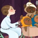 Endor Trail. A Illustration, Digital illustration, and Children's Illustration project by Jimena S. Sarquiz - 10.21.2013