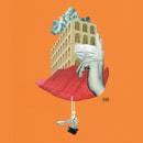 Collages RUMBOS. Um projeto de Ilustração, Artes plásticas e Colagem de Almudena del Mazo - 25.10.2020