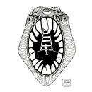 INKTOBER 2020. Um projeto de Ilustração, Artes plásticas e Desenho de Almudena del Mazo - 25.10.2020