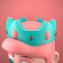 Long live the King... 👑 . Un proyecto de 3D e Ilustración de Roberto Morales - 25.10.2020