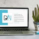 "Diseño web ""El ojo del diseño"". Um projeto de Web design e Desenvolvimento Web de Neri Campaña Ramos - 25.10.2020"