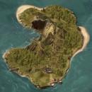 Mapa de Isla fantástica [Proceso]. Um projeto de Ilustração, Ilustração digital, Videogames e Concept Art de Miguel Ligero Nieto - 27.10.2009